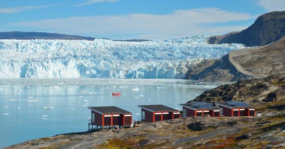 Glacier Lodge Eqi & Ilulissat, dep. Friday